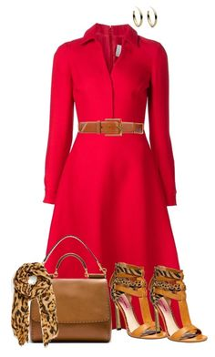 """""""Red Shirt dress"""" by ginga1203 ❤ liked on Polyvore"""