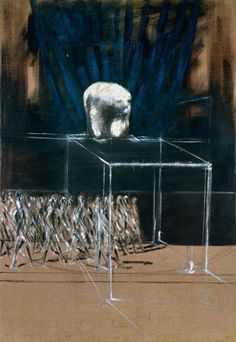 FRANCIS BACON Marching Figures c. 1952 Oil on canvas 78 × 54 in. (198.1 × 137.2 cm) Private collection