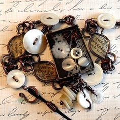 Image result for recycling old metal eyeshadow trays as bezels in jewelry