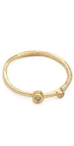 Jacquie Aiche Double Diamond Waif Ring