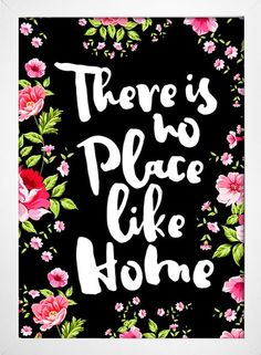 Poster There is no place like home - loja online