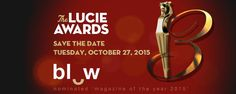 BLOW Photo news // BLOW Photo nominated 'magazine of the year 2015' Lucie Foundation thanks to all our subscribers & followers #BLOWPhoto #LucieAwards2015 October 27, Save The Date, Followers, Foundation, Dating, Magazine, Personalized Items, News, Magazines