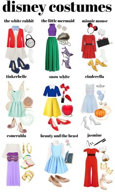 Cute Easy Diy Disney Costumes - Diy Disney Easy Halloween Costumes Color Me Courtney Converse 19 On Halloween Outfits Disney Halloween Costumes Disney Costumes For Girls Of All Ages . Princess Inspired Outfits, Disney Princess Costumes, Disney Inspired Fashion, Disney Halloween Costumes, Halloween Outfits, Disney Costumes For Women, Disney Dresses For Women, Disney Characters Costumes, Disney Dress Up