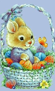 ~*♥♥*~ Easter Cats, Cute Easter Bunny, Happy Easter Wallpaper, Ariana Grande Drawings, Coquille Saint Jacques, Colouring Pics, Spring Painting, Vintage Easter, Cute Illustration