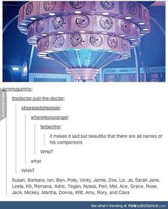 The sport of hunting the legendary easter egg: These gallifreyan letters are all the names of his companions,doctor who,the tardis David Tennant, Supernatural, Don't Blink, Torchwood, Dr Who, Superwholock, Bad Wolf, Tardis, Just In Case