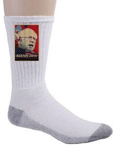 Crew Socks - Bernie 2016 - Presidential Candidate Design