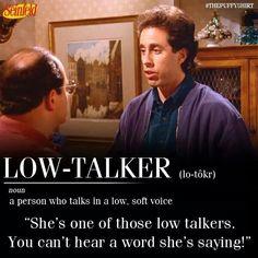 Low talkers!