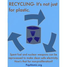Public Service Annoucements - PopAtomic - recycling - it's not just for plastic
