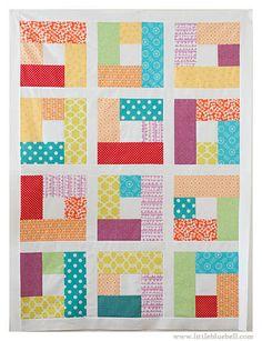 Skittles Quilt Top | Flickr - Photo Sharing! www.littlebluebell.com