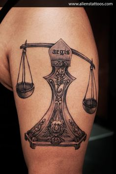 What does libra tattoo mean? We have libra tattoo ideas, designs, symbolism and we explain the meaning behind the tattoo. Libra Scale Tattoo, Libra Tattoo, Zodiac Sign Tattoos, Zodiac Signs, Libra Zodiac, Libra Art, Horoscope, S Tattoo, Alien Tattoo