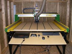 Hybrid Plans and Access to Our Private Builders Forum. (Before purchase please click Picture for further details) Cnc Router Table, Diy Cnc Router, Cnc Milling Machine, Cool Tools, Drafting Desk, Wood Crafts, How To Plan, Workshop, 3d Printing