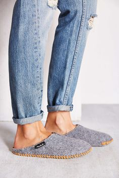 Woolrich Felt Mill Slippers - urban outfitters #slippers #wool