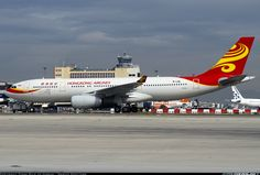 Hong Kong Airlines Airbus A330-243 (registered B-LNL)