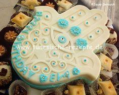 Fatimakuchen Fondant, Desserts, Sugar, Cookies, Food, Cacao Powder, White Chocolate, Bakken, Tailgate Desserts