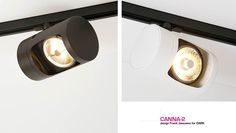 CANNA-2 TRACK MAT #DARK   reddot design award winner <<<   [design Frank Janssens for DARK®] Track Lighting, Dark, Design