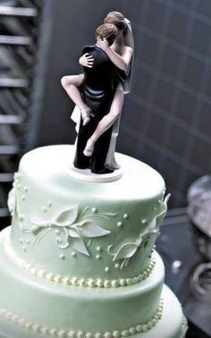 Cool #wedding #cake topper...