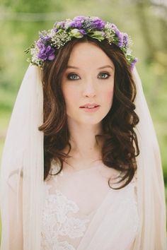 Flower halo & veil