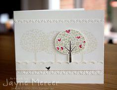Very Vanilla Valentine by Jayne Mercer - Cards and Paper Crafts at Splitcoaststampers