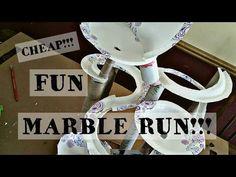 How to make Marble Run Machine From Cardboard (Marble Run, Marble Race) - YouTube