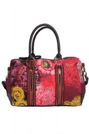 Desigual PUNTILLA Shoulder Bag Garnet Red 37X5140 3032 My Bags 90c0dea179