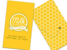 Milk & Honey Fresh Market - Branding  by Richard Kwon.