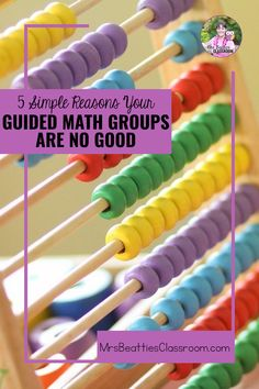 Guided Math is a fantastic teaching structure, but your groups don't work. Here are five simple reasons your Guided Math groups are no good. Classroom Management Strategies, Teaching Strategies, Classroom Resources, Math Resources, Teaching Math, Math Activities, Teacher Hacks, Best Teacher, Guided Math Groups