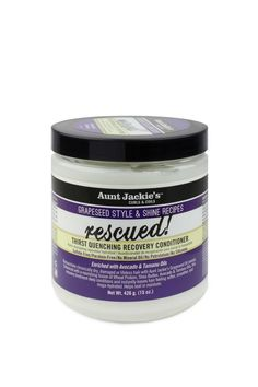 AUNT JACKIES RESCUED THIRST QUENCHING RECOVERY CONDITIONER 15 OZ