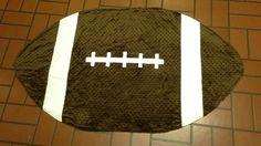 Grandson#5 Aiden Lee Volentine's Minkie/Saints football snuggle blanket.