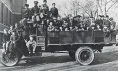 After neighbors objected to having a home with boys from different races and religions in their neighborhood, Father Flanagan decided to move out of town into the country.  Many of the older boys had to walk twenty miles from south Omaha to the farm. The younger boys rode in a large truck. The boys were able to live in a beautiful clean environment and Father was free to practice his beliefs of equality for all children, regardless of race or religion. | BoysTown.org