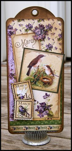 March Place In Time Tag