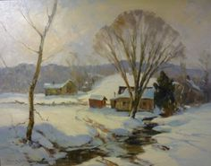 C. Curry Bohm  a Brown County winter