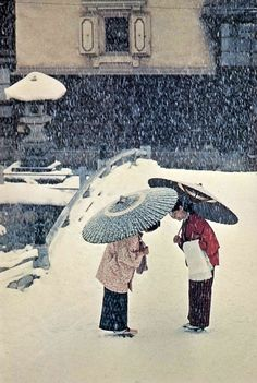 """Japanese women"" 1961, photo by American photographer BURT GLINN (1925/2008)"