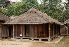 Cham House, Ninh Thuan province, Vietnamese Museum of Ethnology, Hanoi