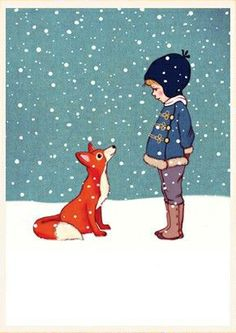 """Hello Mr. Fox"" by Belle & Boo Illustration."