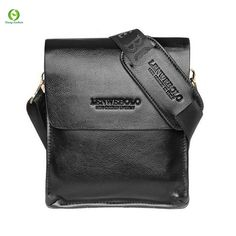 0c1beb19093b  Visit to Buy  Casual Fashion men messenger bag genuine leather vintage  male shoulder bag crossbody bags men s travel bags handbag Husband Gift
