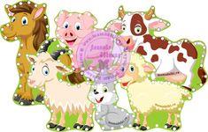 Шнуровки Животные на ферме