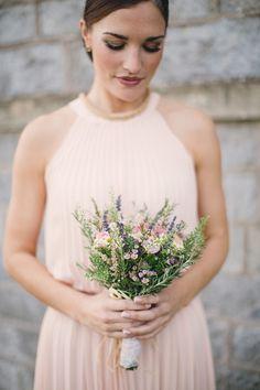 Wildflower Bridal Bouquets, Simple Wedding Bouquets, Herb Wedding, Irish Wedding, Cake Flowers, Wedding Cakes With Flowers, Wedding Styles, Wedding Ideas, Crown Flower