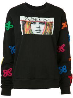 162aad6ad2afd2 HACULLA Embroidered Print Sweatshirt.  haculla  cloth  sweatshirt