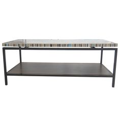 Avon KD Coffee Table Graphite Metal Frame, Mosaic/2300002