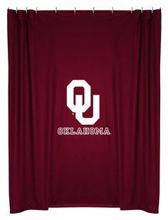 ATHLEZ - Oklahoma Sooners Shower Curtain