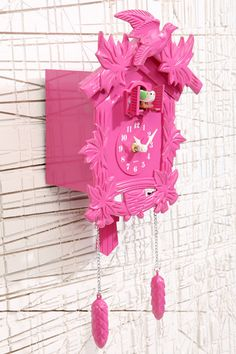 Pink Cuckoo Clock.  Yep...this is going happen.