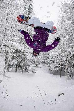 Or should I say want to do in this case -snowboarding