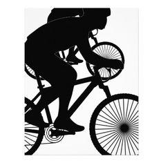 Cyclist Letterhead  #Cyclist #Bike #Bicycle #Cycling #Stationery #Letterhead