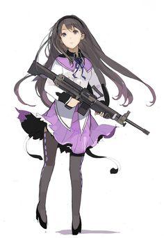 Homura Akemi Madoka Magica #anime