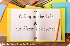 Homeschooling for Free and Frugal: A Day in the Life of our Free Homeschool