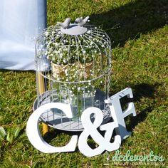 #Letras de #madera para #ambientar tu #ceremonia #casamientos #cumpleaños