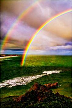 Princess Catie creates rainbows. Then, the Princesses slide down them - like waterslides - or use them as transportation. (via Jessica Power)