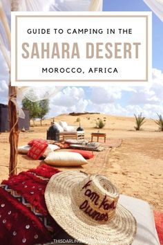 Camping in Morocco: Experience an Incredible Sahara Desert Luxury Camp - This Darling World Morocco Travel, Africa Travel, Vietnam Travel, Canada Travel, Travel Usa, Desert Sahara, K Om, Adventures Abroad, Desert Tour