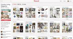 اصبح بن تريست اكبر محفز لزيارة مواقع المجلات النسائية  Pinterest Becomes Top Traffic Driver for Women's Magazines
