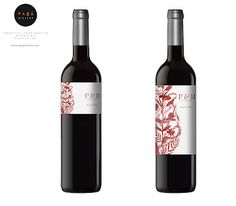 Wedding time. Wine label by Sara Morante. Production: Paga Disseny